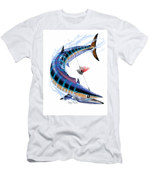 Wahoo Digital Men's T-Shirt (Slim Fit) by Carey Chen