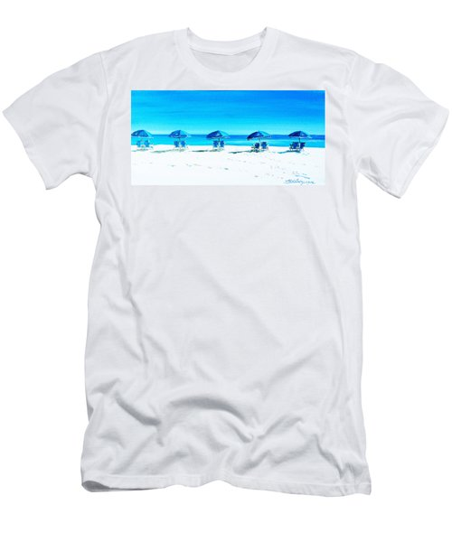 Waiting For The Beach Sitters Men's T-Shirt (Athletic Fit)
