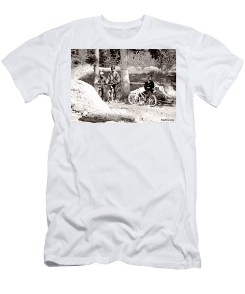 Waiting Their Turn Men's T-Shirt (Athletic Fit)