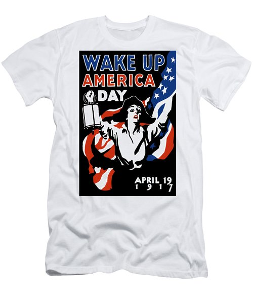 Wake Up America Day - Ww1 Men's T-Shirt (Athletic Fit)
