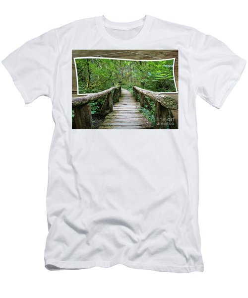 Walk Into My World Men's T-Shirt (Athletic Fit)