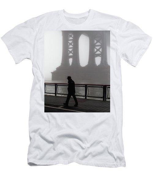 Walk Thru The Fog... Men's T-Shirt (Athletic Fit)