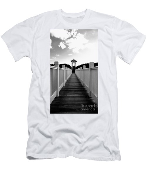 Walk To The Beach Men's T-Shirt (Athletic Fit)