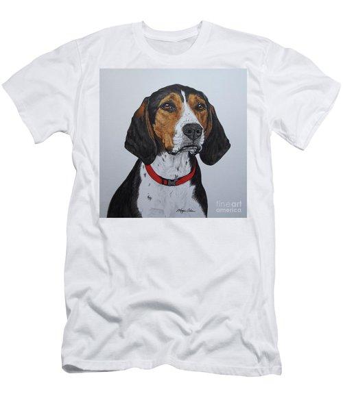 Walker Coonhound - Cooper Men's T-Shirt (Slim Fit) by Megan Cohen