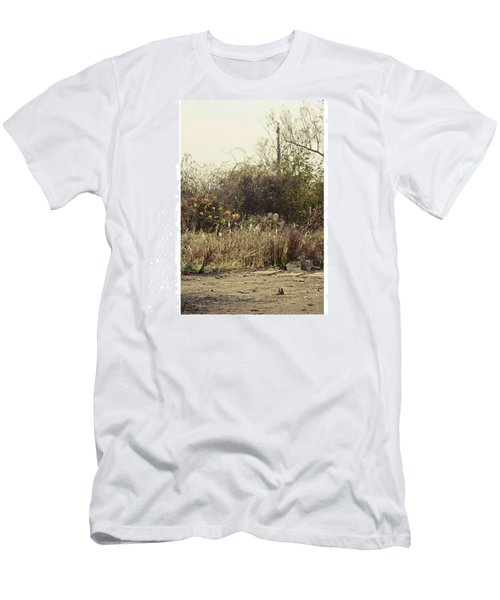 Walking By The Lake  #landscape #lake Men's T-Shirt (Athletic Fit)