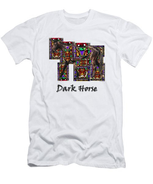 Walking Horse 2 Dark Horse Men's T-Shirt (Athletic Fit)