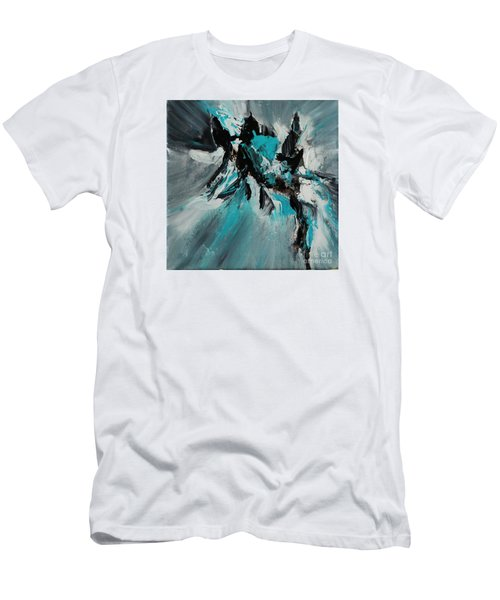 Walking Waves-2 Men's T-Shirt (Athletic Fit)
