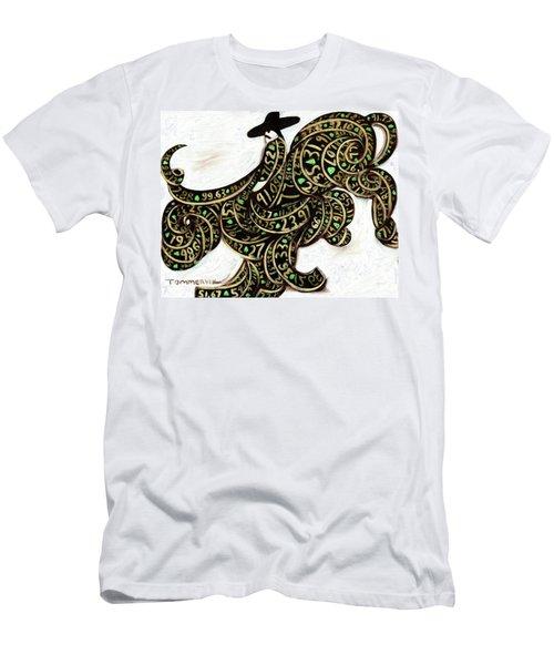 Tommervik Wall Street Bull Market  Men's T-Shirt (Athletic Fit)