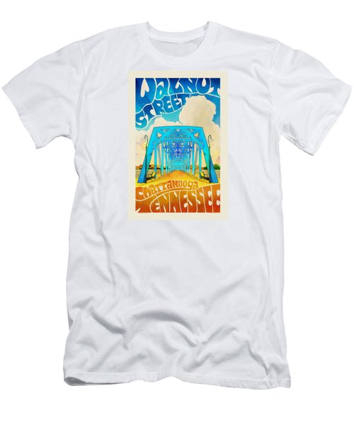 Walnut Street Poster Men's T-Shirt (Athletic Fit)