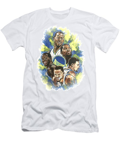 Warriors Men's T-Shirt (Athletic Fit)