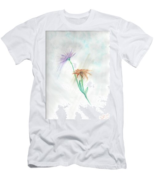 Washing Away Men's T-Shirt (Slim Fit) by Judy Hall-Folde