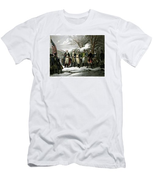 Washington And His Generals  Men's T-Shirt (Athletic Fit)