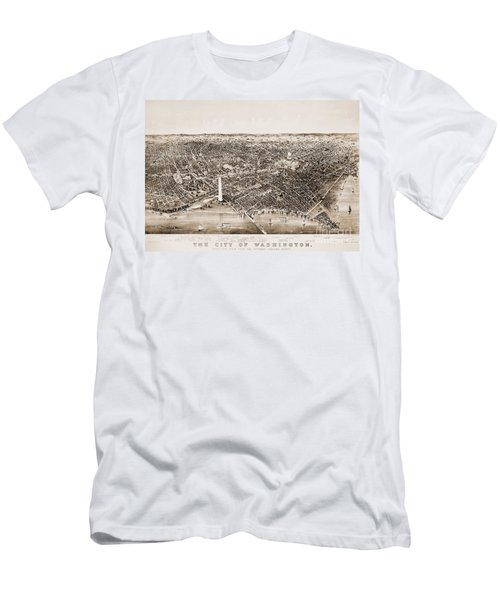 Washington D.c., 1892 Men's T-Shirt (Athletic Fit)