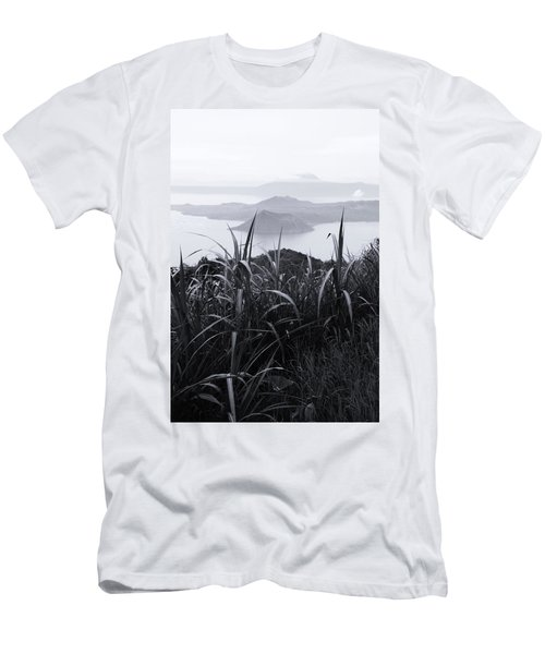 Watch Over Men's T-Shirt (Slim Fit) by Jez C Self
