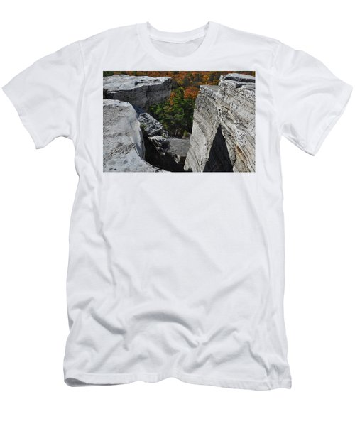 Watch Your Step Men's T-Shirt (Athletic Fit)