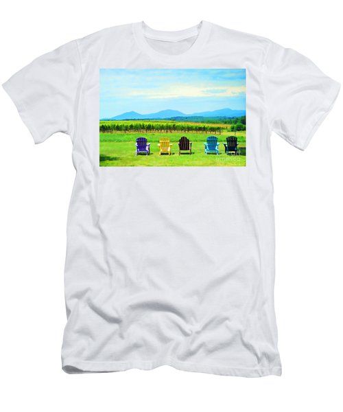 Watching The Grapes Grow Men's T-Shirt (Athletic Fit)