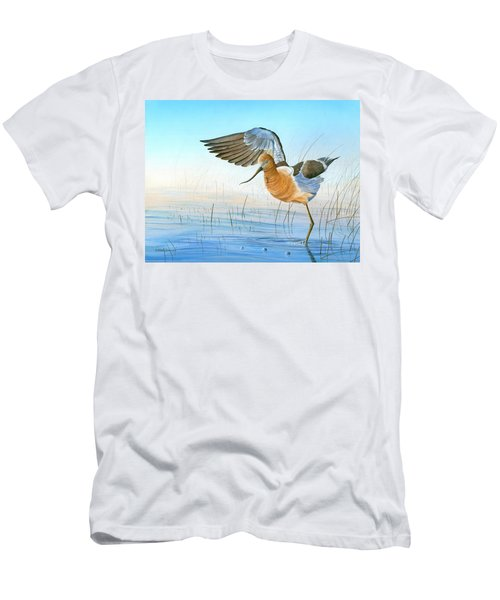 Water Ballet Men's T-Shirt (Athletic Fit)