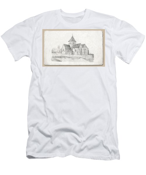 Water Inlet At Church Men's T-Shirt (Athletic Fit)