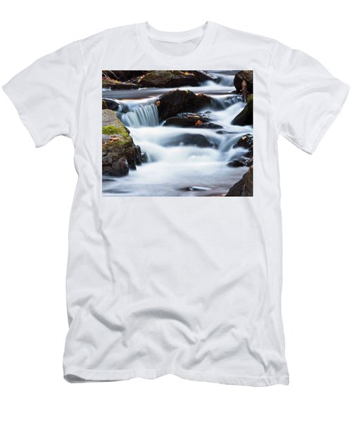 Water Like Mist Men's T-Shirt (Athletic Fit)