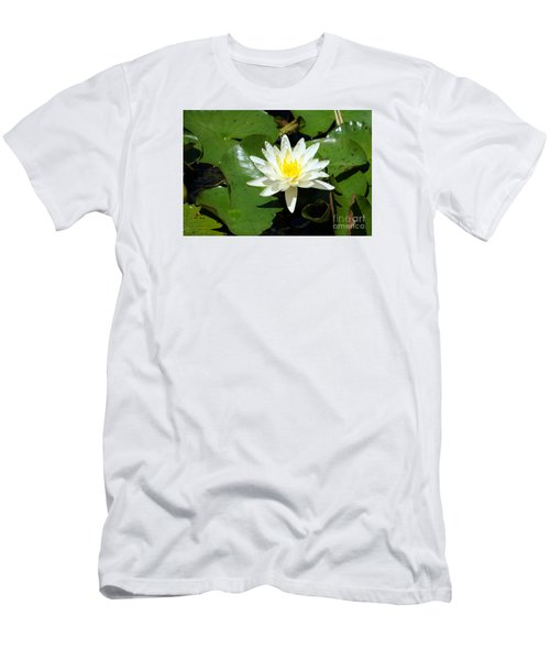 Water Lily 7 Men's T-Shirt (Athletic Fit)