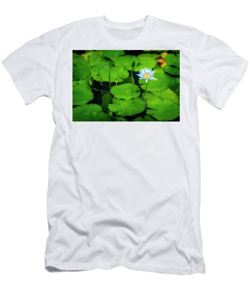 Men's T-Shirt (Slim Fit) featuring the photograph Water Logged by Ryan Manuel