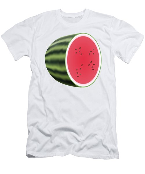 Water Melon Men's T-Shirt (Athletic Fit)