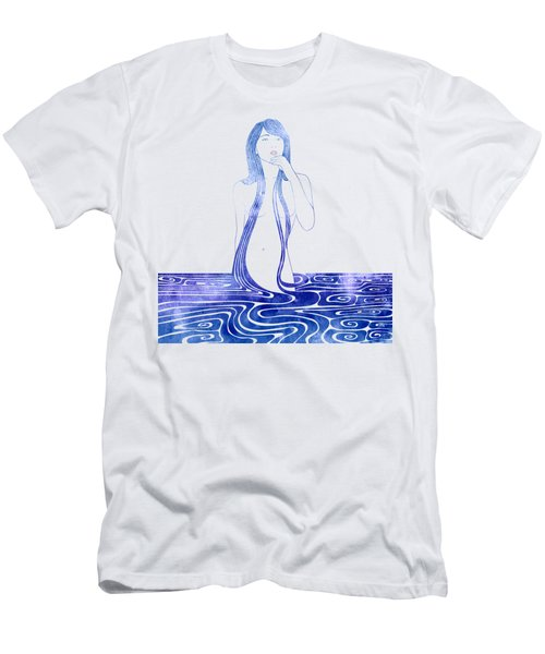 Water Nymph C Men's T-Shirt (Athletic Fit)