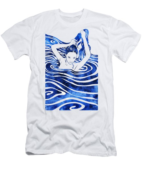 Water Nymph Iv Men's T-Shirt (Athletic Fit)