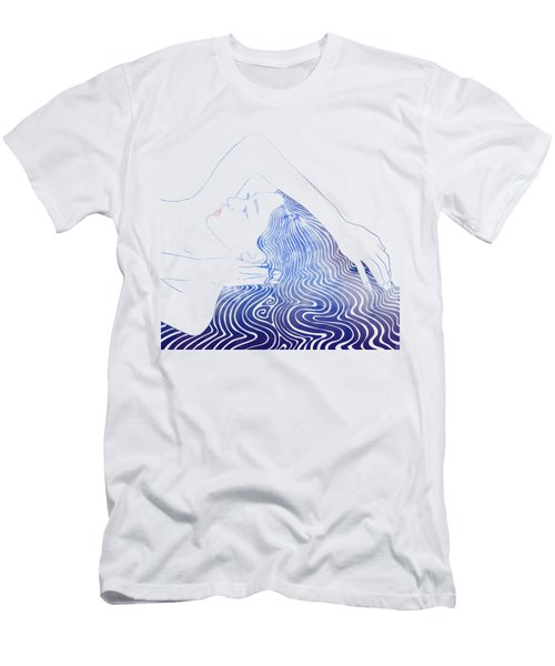 Water Nymph Lxxix Men's T-Shirt (Athletic Fit)