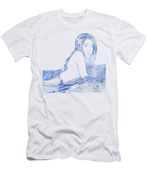 Water Nymph Lxxvi Men's T-Shirt (Athletic Fit)