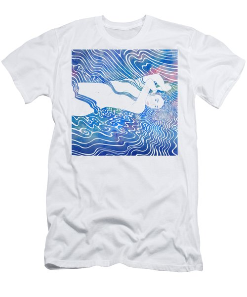 Water Nymph Lxxxiii Men's T-Shirt (Athletic Fit)