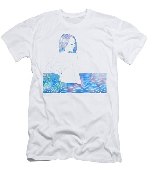 Water Nymph Lxxxiv Men's T-Shirt (Athletic Fit)