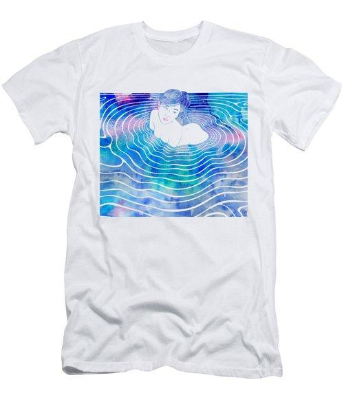 Water Nymph Lxxxix Men's T-Shirt (Athletic Fit)