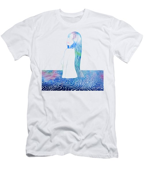 Water Nymph Lxxxv Men's T-Shirt (Athletic Fit)