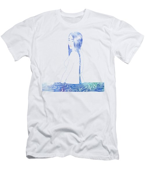 Water Nymph Xcii Men's T-Shirt (Athletic Fit)
