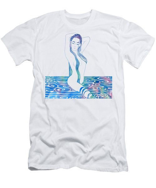 Water Nymph Xciii Men's T-Shirt (Athletic Fit)