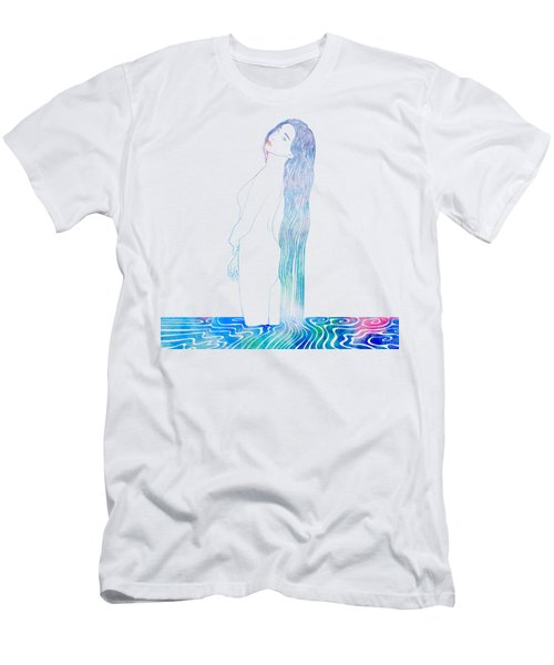 Water Nymph Xciv Men's T-Shirt (Athletic Fit)
