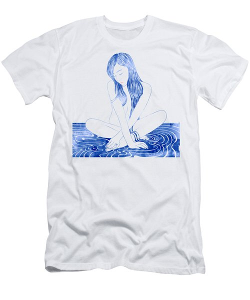 Water Nymph Xcviii Men's T-Shirt (Athletic Fit)