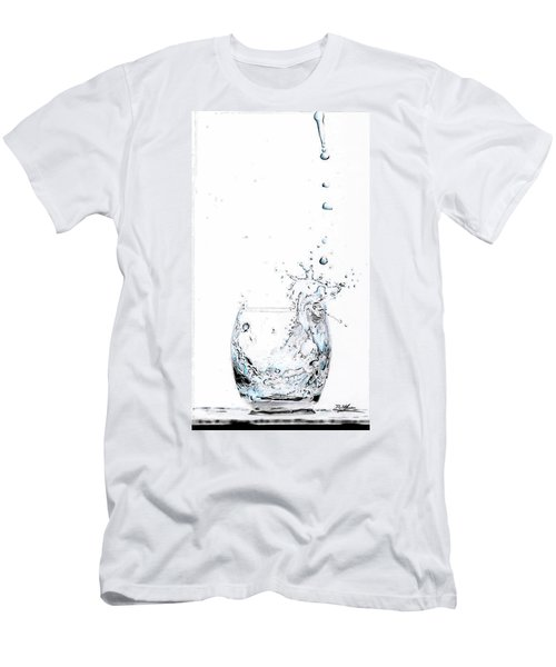 Water Splash 1 Men's T-Shirt (Athletic Fit)