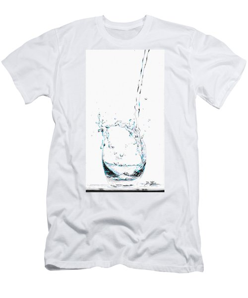 Water Splash 2 Men's T-Shirt (Athletic Fit)