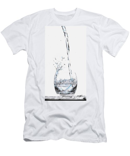 Water Splash 3 Men's T-Shirt (Athletic Fit)