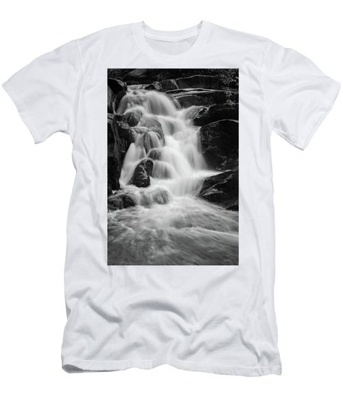 water stair close to the Heinrich Heine hiking way, Harz Men's T-Shirt (Slim Fit) by Andreas Levi