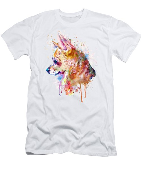 Watercolor Chihuahua  Men's T-Shirt (Athletic Fit)