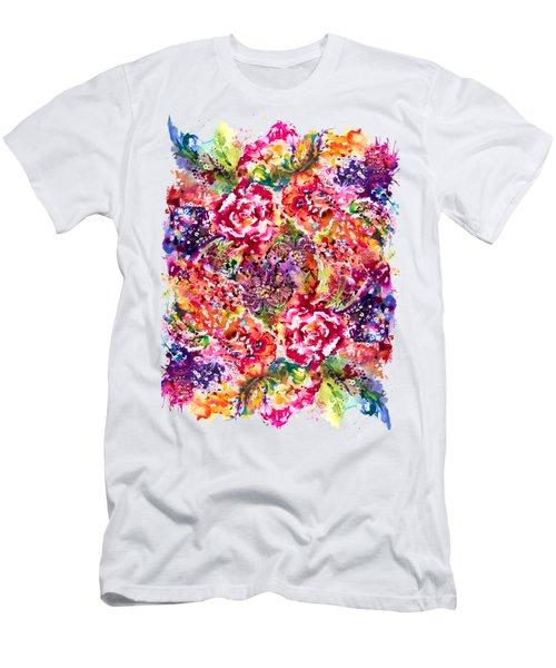 Watercolor Garden IIi Men's T-Shirt (Athletic Fit)
