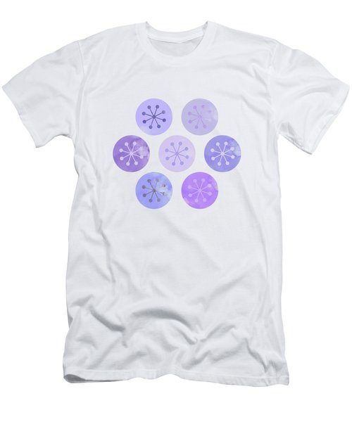 Watercolor Lovely Pattern II Men's T-Shirt (Slim Fit) by Amir Faysal