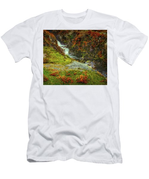 Waterfall 1 #g9 Men's T-Shirt (Athletic Fit)