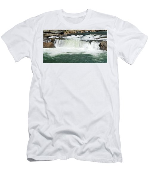 Waterfall At Ohiopyle State Park Men's T-Shirt (Athletic Fit)