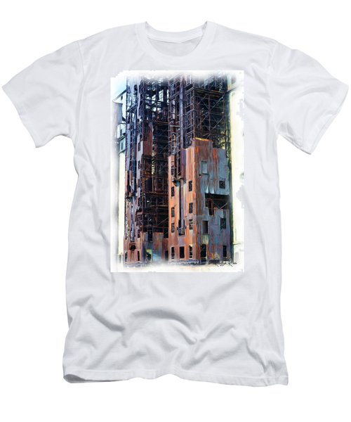 Waterfront Decay One Men's T-Shirt (Athletic Fit)