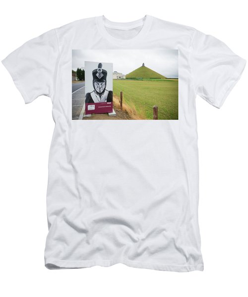 Men's T-Shirt (Slim Fit) featuring the photograph Waterloo Memorial by Hans Engbers