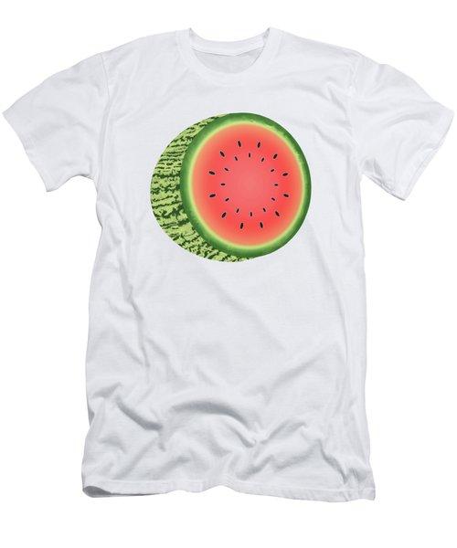Watermelon Slice Men's T-Shirt (Athletic Fit)